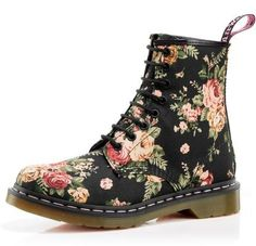 love these boots. Dr Martin's Victorian Flowers