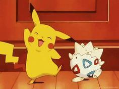 Imagen de anime, pikachu, and dance