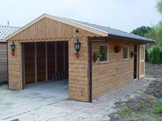 houten garage - Google zoeken