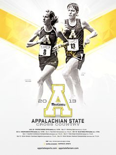 Appalachian State Cross Country Poster (2013)
