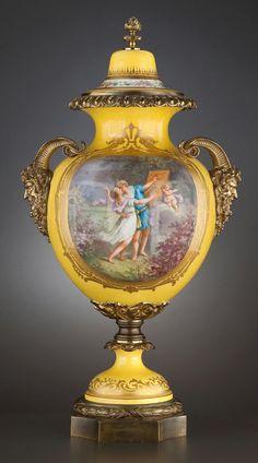 Samson et Cie (Paris)  —  Porcelain Covered Vase ( Gilt-Bronze Mounts), circa 1875 (569x1024)