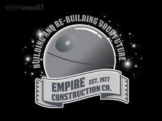 Building an Empire Tee by Shirt.Woot.com