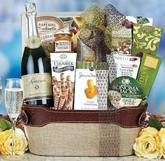 As the year is winding down, the celebrations are just beginning. Do it with gift baskets.