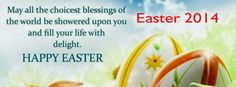 Happy Easter 2014 Facebook Cover and Timeline Pictures