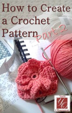 Look over my shoulder for part two of how to create a crochet pattern while I create a pattern for my daughter's dress and you learn the process.