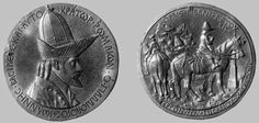 Medaglia di Giovanni VIII Paleologo (1438; Firenze, Museo Nazionale del Bargello)