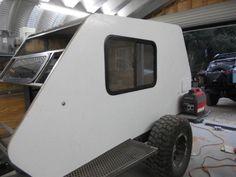 Skersfan& New Shuttle Pod Trailer Build. Off Road Trailer, Trailer Build, Mini Caravan, Off Road Camping, Expedition Trailer, Tiny Camper, Outdoor Speakers, Teardrop Trailer, Fj Cruiser