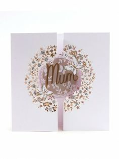Open Out Floral Wreath Mothers Day Card - Mothers Day Cards - Mothers Day | Clintons