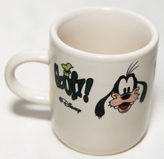 Disney Goofy Mini Mug / Cup Demitasse?