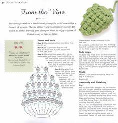 Watch The Video Splendid Crochet a Puff Flower Ideas. Wonderful Crochet a Puff Flower Ideas. Crochet Puff Flower, Crochet Fruit, Crochet Leaves, Pineapple Crochet, Crochet Food, Crochet Flowers, Crochet Diagram, Crochet Chart, Crochet Motif