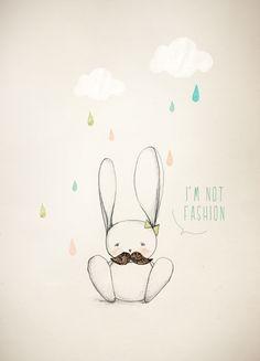 """I'm not fashion"""