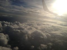 Sky from plane