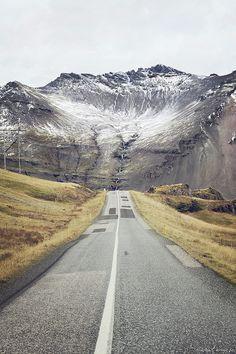 Iceland roads.