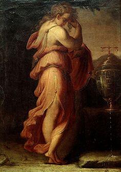 Giorgio Vasari, Artemisia piange Mausolo (ca1545)