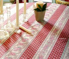 French coated tablecloth (Nais. bordeaux) - Click Image to Close