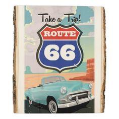 #vintage - #Route 66 USA retro travel print