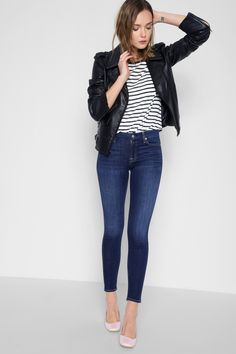 B(air) Denim Ankle Skinny in Duchess