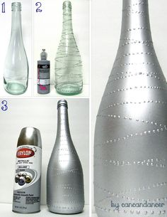 Can Can Dancer: Bottles to Vases