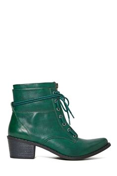Shoe Cult Smooth Criminal Boot - Hunter Green