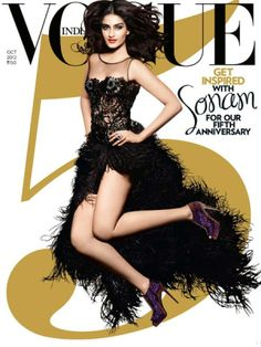 Sonam Kapoor - Vogue Magazine Cover [India]