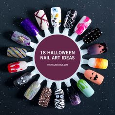 18 Halloween Nail Art Ideas: 2016 Edition