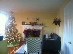 Holiday family room