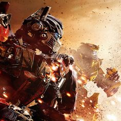 optimus prime and bumblebee love   Transformers 4 Bumblebee and Optimus Prime
