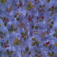 Blue Leaf Toss 100 Cotton Fabric 44 45 in Wide | eBay