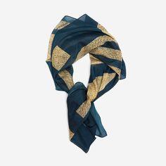 Biran (No. 2) large wrap scarf