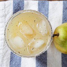 vanilla pear vodka cocktail