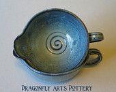 Gravy Boat - Sauce bowl - Batter Bowl - Wheel thrown pottery - Stoneware