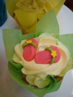 tropical cupcakes -