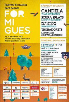 Formigues Festival. Festival de música para niños