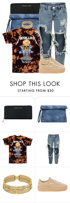 """""""Skateboard P x Madeintyo """" by trinsowavy ❤ liked on Polyvore featuring Michael Kors, OneTeaspoon, Chanel and Puma"""