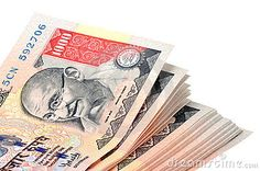 stacks of rupees | ... pressure price punching rupee rupees stack thousand tide white