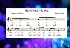 MLT, easy as Do Re Mi: A Music Learning Theory classroom: Phrygian songs