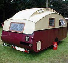 She's a beaut!! 1957 Freeman Leverit Caravan