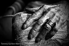 Interesting collection of photographs depicting the hardworking hands of grandmothers. As my hands age, I hope my grandchildren will see my hands as a record of my life's work as a homemaker. :)