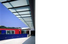 HKJC Shatin Grandstand One | Exterior Terrace