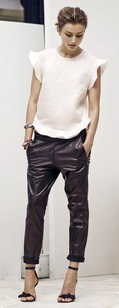 Leather pant | Isabel Marant Resort 2014