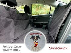 4Knines Car Seat Cover Review and Giveaway on the blog. #sponsored
