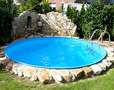 Pool rund 3m google search pool pinterest suche for Gartenpool oval
