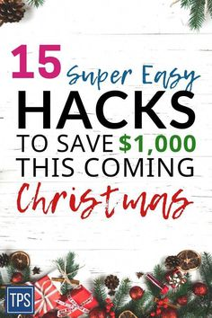 Christmas On A Budget: 16 Best Ways To Save Money For Christmas – Finance tips, saving money, budgeting planner Save Money On Groceries, Ways To Save Money, Money Tips, Money Saving Tips, Money Hacks, Money Budget, Managing Money, Saving Ideas, Extreme Couponing