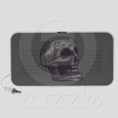 the Skull! Black & White from Zazzle.com