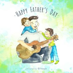 No matter how old we get, you'll always be our role model. We appreciate you. Wishing a Happy Father's Day to all the great dads around the world. Fathers Love, Happy Fathers Day, Banners, Daddy Day, Best Dad, Illustration, Vector Free, Old Things, Dads