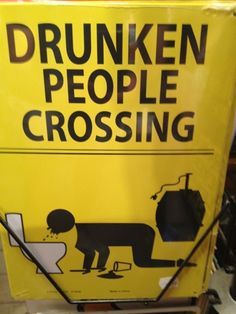 Drunken people crossing  http://www.clicksescape.com/2012/07/drunken-people-crossing.html