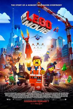 The LEGO Movie. Starring Chris Pratt, Will Ferrell, Elizabeth Banks. Directed by Christopher Miller and Phil Lord. Charlie Day, Will Ferrell, Lego Movie Party, Lego Film, Liam Neeson, Chris Pratt, Love Movie, Movie Tv, Movie Cast