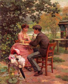 Claude-Emil Schuffenecker - By the Marne