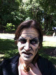 Kristin (w/ voodoo witch makeup)