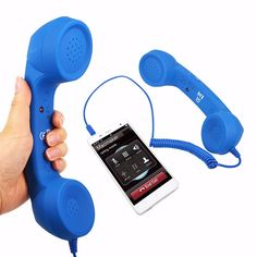 3.5mm Audio Jack Volume Control Retro POP Phone Handset Speaker Mic Phone Call Receiver For iPhone 4 4S 5 6 Android IOS Phone  http://playertronics.com/products/3-5mm-audio-jack-volume-control-retro-pop-phone-handset-speaker-mic-phone-call-receiver-for-iphone-4-4s-5-6-android-ios-phone/